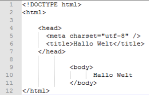 Statische HTML Seite